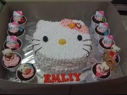 hello kitty cupcakes hello kitty fresh cream cakes u0026 cupcakes