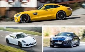 maserati gt vs porsche 911 2016 jaguar f type r coupe vs 2016 mercedes amg gt s 2015