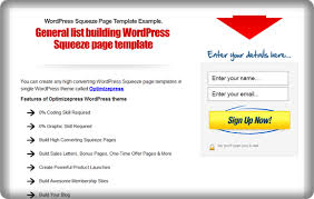create high converting wordpress video squeeze page templates