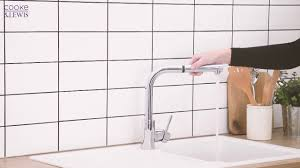 cooke and lewis 20a pull out spray mono mixer kitchen tap chrome