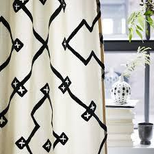 Lattice Design Curtains Crewel Lattice Embroidered Curtain West Elm
