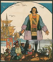 columbus in the new world pictures getty images