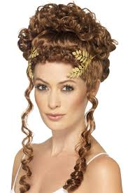 goddess headband gold laurel leaf toga goddess headband costumes and fancy dress
