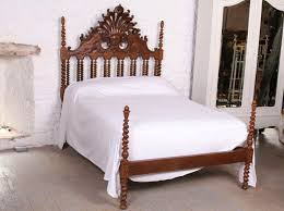 colonial style beds colonial style solid oak no end double bed beds pinterest