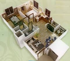 1000 Sq Ft Apartment Three Bedroom Apartment Home And Design Remarkable 3d Layout Of