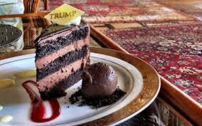 here is donald trump u0027s u0027beautiful u0027 chocolate cake it really does