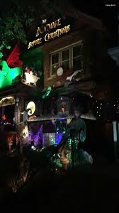 Halloween House With Lights And Music by Spotted In Bay View Nightmare Before Christmas Themed Halloween