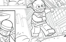 Lego flash coloring pages coloriage dc comics pontiacgtoinfo 20