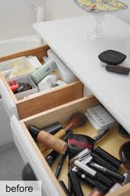 my desk has no drawers easy diy wooden drawer dividers no tools needed once again my