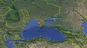 sea of map black sea map
