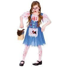 childrens deadly dorothy horror fancy dress up party halloween