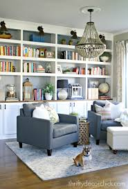 the library is complete for real this time from thrifty decor