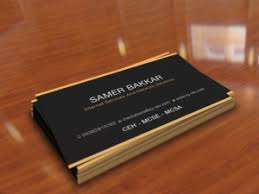68 professional information technology business card designs for a