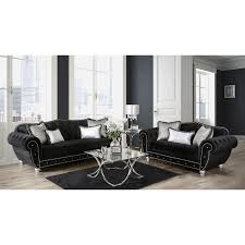 gray tufted sofa aurelle home era grey tufted sofa with gray