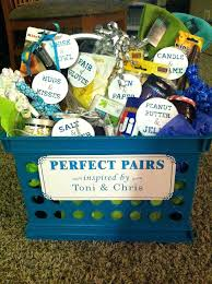 date gift basket ideas gift basket ideas bridal shower pour bridal gift shower date