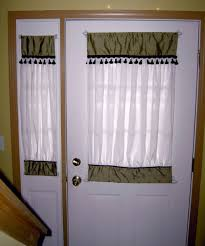 Curtains For Front Doors 17 Images About Window Curtains For Front Door On Pinterest Half