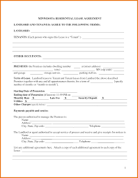 8 commercial lease template itinerary template sample