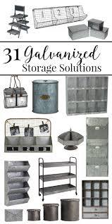 31 galvanized storage solutions storage organizations and