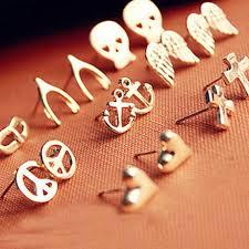 cool ear studs 0 99 boho ear studs vintage pierced earrings 1pair