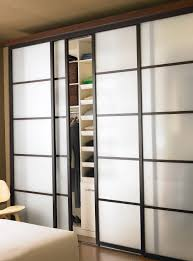 bedroom beautiful sliding closet doors for bedrooms ikea