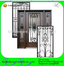 ornamental classic wrought iron door and window grill buy door