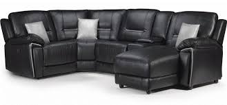 leather corner sofa henry electric recliner corner rhf leathaire electrical recliner