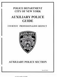 nypd auxiliary patrol guide executive officer police