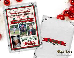 christmas cards themed baseball christmas cards sports themed christmas cards