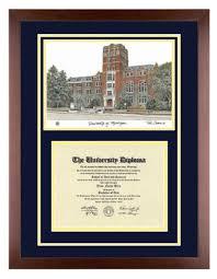 of michigan diploma frame of michigan diploma with artwork in