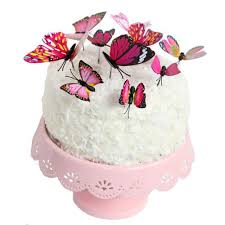 butterfly cake toppers cupcake toppers via blossom