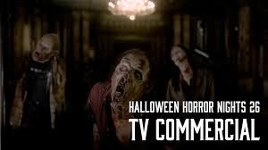 halloween horror nights instagram halloween horror nights 26 tv commercial youtube