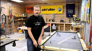 build a pool table how to build a pool table part 7 efforts in frugality episode 5