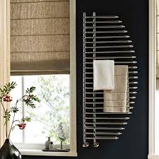 reina nola designer steel bathroom heated towel rail radiator