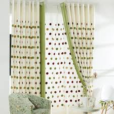 Green And Beige Curtains Lovely Discount Thermal Curtains In Green Color