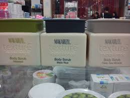 Scrub Makarizo makarizo texture experience scrub gendis