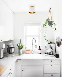 how to modernize a small kitchen 14 ways to update an rental kitchen hunker