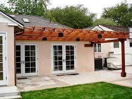Design A Pergola by How To Attach A Pergola To A House U2014 All Home Design Ideas The