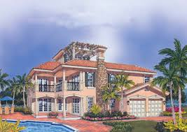 3 story houses mediterranean style home plans for the florida coastline
