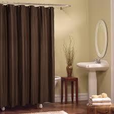 Chocolate Brown Shower Curtain Bathroom Shower Curtains Brown Shower Curtain Solid Brown