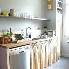 rideau meuble cuisine rideau placard cuisine meuble cuisine rideau coulissant pour idees