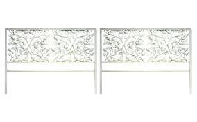 Wrought Iron Headboard Full by Queen Bed Frame Without Headboard Full Ideas With White Wrought