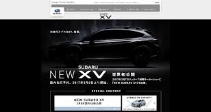 black subaru 2017 2018 subaru xv crosstrek teased confirmed to debut at 2017 geneva