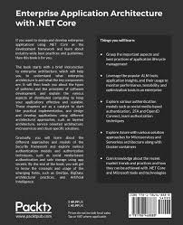 enterprise application architecture with net core ganesan