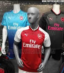 arsenal puma deal april fools arsenal agree adidas kit deal leaked 17 18 kits