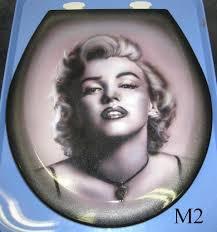 Marilyn Monroe Bathroom by Marilyn Monroe Custom Airbrushed Toilet Seat 2 Choices New