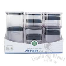 airscape u0026reg lite food storage canister u2013 liquid planet