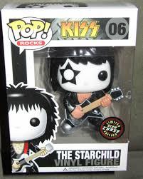 kiss the starchild glow in the dark pop vinyl pop rocks pop