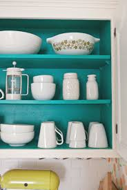 do you paint inside of kitchen cabinets paint inside of cabinets cabinet