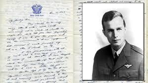 read george h w bush u0027s 1943 love letter to u0027my darling bar u0027 nbc