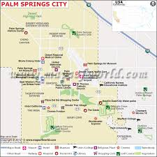 california map desert region palm springs map city map of palm springs